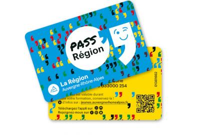 Carte obligatoire PASS'REGION